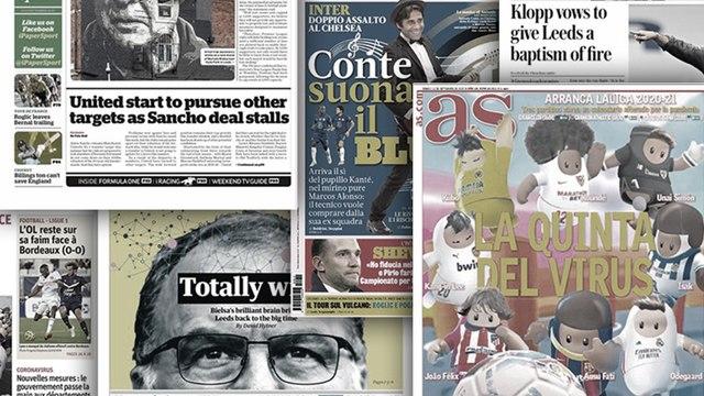Le duel Klopp-Bielsa enflamme l'Angleterre, les pertes astronomiques de la Juventus changent les plans sur le mercato