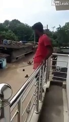 Utiliser les inondations pour se déplacer... mieux que le bus