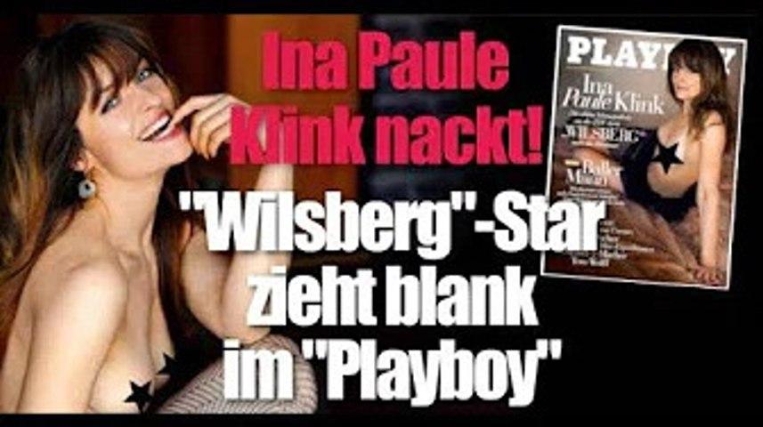 """Playboy"" Juli 2020: Ina Paule Klink zieht blank! HIER posiert der ""Wilsberg""-Star komplett nackt"