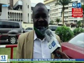 RTG / Manque de parking à Libreville