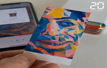 L'imprimante nomade Hi-Print de Polaroid se révèle