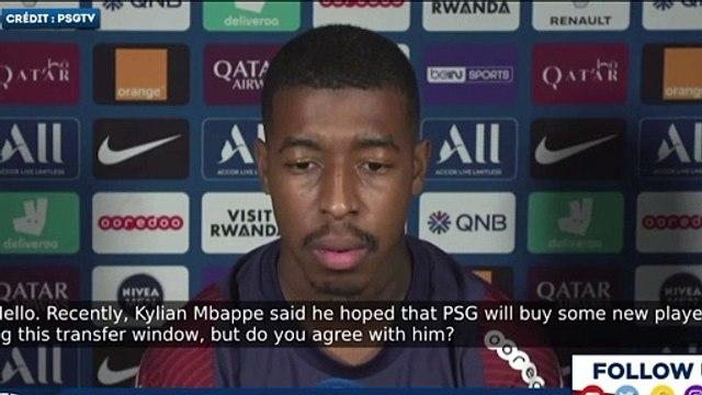 Presnel Kimpembe réclame des renforts au PSG !