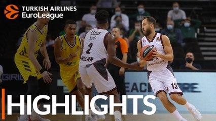 Milan tops ALBA as basketball returns