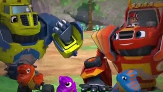 Blaze And The Monster Machines Season 4 Episode 7 TRex Trouble