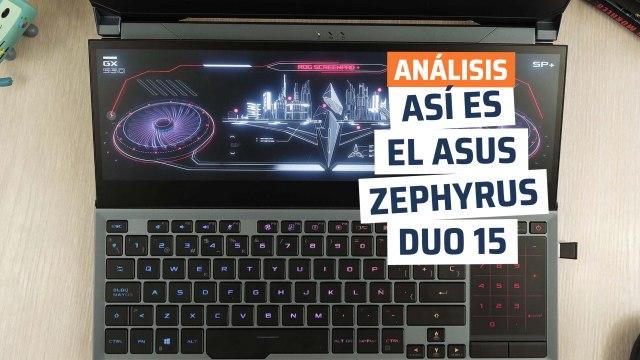 Así es el Asus ROG Zephyrus Duo 15, una bestia con dos pantallas