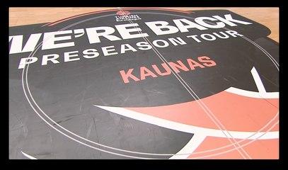 We're Back Preseason Tour, Kaunas Day 1: Mini-Movie