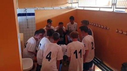 VICTOIRE U 15 EN COUPE DES VOSGES CONTRE US MIRECOURT