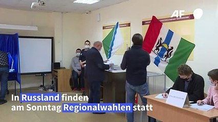 Regionalwahlen in Russland als Stimmungstest für Putin