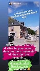 Mariage de Claire et Sébastien (L'amour est dans le pré), 12 septembre 2020.