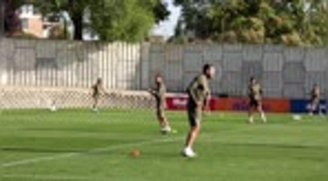 Liga - L'Atletico Madrid de retour à l'entraînement sans Simeone
