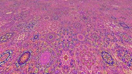 Trippy Mandala Animation (epilepsy warning)