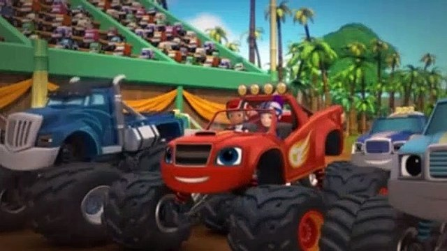 Blaze And The Monster Machines Season 4 Episode 10 Power Tires