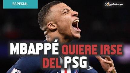 ¡BOMBAZO! Mbappé comunica al PSG que quiere irse en 2021