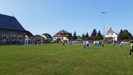 Penalty de l'ASTRW vs FC BATTENHEIM : Signé Marwen !