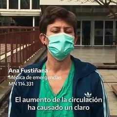 """""""Les pedimos por favor que se queden en casa"""": el mensaje de médicos, enfermeros y camilleros"""