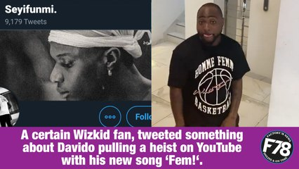 F78NEWS: 'I'm Bigger Than Your Fave' – Davido To Wizkid's Fan.