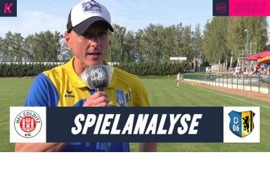 Die Spielanalyse | HFC Colditz - FV Dresden 06 Laubegast (2. Runde, Sachsenpokal)