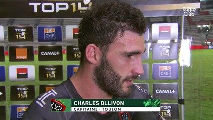 La réaction de Charles Ollivon suite à la victoire face au LOU Rugby