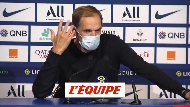 Tuchel : « Neymar m'a dit qu'il avait subi une insulte raciste » - Foot - L1 - PSG