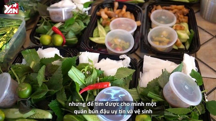 Quán bún đậu 3 hương vị xịn sò nhất Sài Gòn
