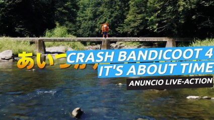 Crash Bandicoot 4: It's About time - Anuncio japonés