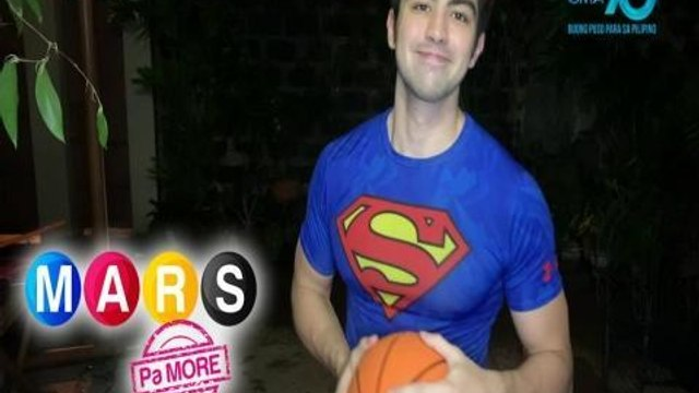 Mars Pa More: Derrick Monasterio teaches basketball drills for kids | Push Mo Mars