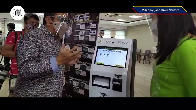 WATCH: QC partners with Gracia Telecoms and LMP to launch Automated Payment Machine