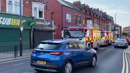 Nine people rescued after Hartlepool flat fire