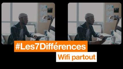 #Les7Différences - Wifi partout - Orange