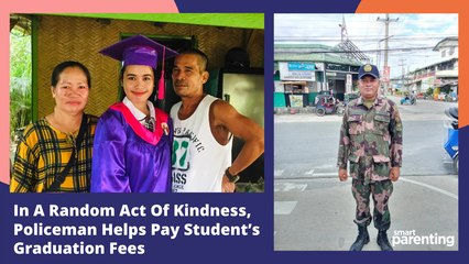 Policeman Performs Random Act Of Kindness And Helps Pay Student's Graduation Fees