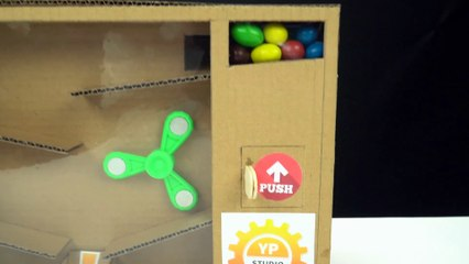 YP STUDIO - GUMBALL MACHINE - Make Things From Cardboard