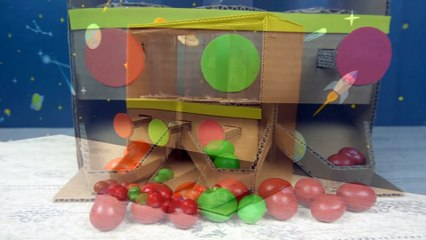 YP STUDIO - CANDY DISPENSER - Make Things From Cardboard