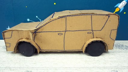 YP STUDIO - INNOVA CAR - Make Things From Cardboard
