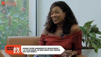African Woman 2.0 #7 / Konnie Touré, animatrice et productrice -  «Si je me marie, ce sera parce que j'estime qu'il est temps» son ambiant