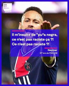 Les insultes racistes qui auraient poussé Neymar à frapper Alvaro González en plein match