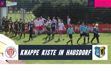 Spiel gleich 2 Mal gedreht: Pokaldrama in Colditz | HFC Colditz – FV Dresden 06 Laubegast (2. Runde, Sachsenpokal)