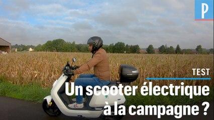 On a testé un scooter électrique pour remplacer la voiture à la campagne