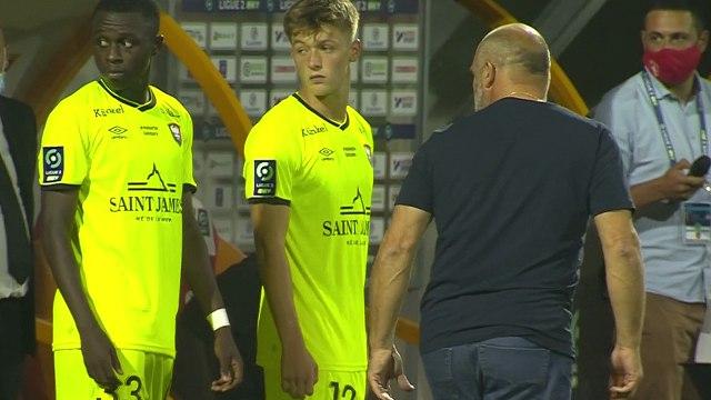 Premières minutes en équipe professionnelle pour Johann Lepenant et Zeidane Inoussa lors de Rodez AF 0-3 SMCaen (J3 Ligue 2 BKT)