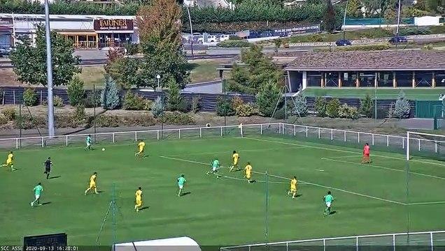 N3 : Les buts du match ASSE 3-0 Montluçon