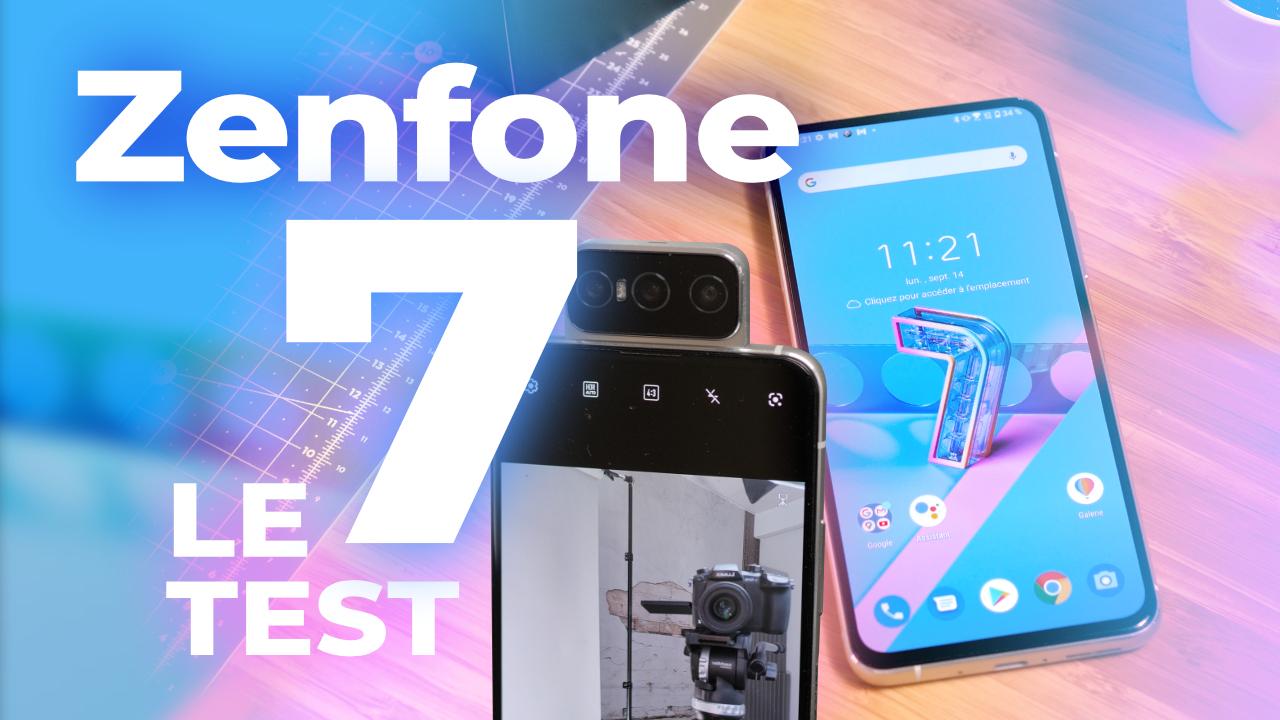 Test COMPLET Asus Zenfone 7 Pro : un FLOP avec sa Flip Caméra ?