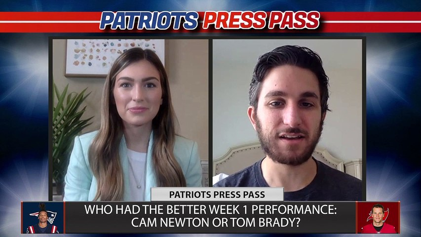 Cam Newton vs Tom Brady: Who Had a Better Week 1?   Patriots Press Pass
