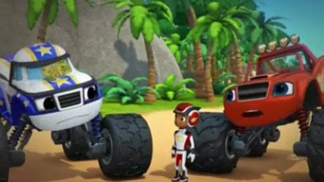 Blaze and the Monster Machines Season 5 Episode 1 The Island of Lost Treasure