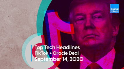 Top Tech Headlines | 9.14.20 | TikTok And Oracle Strike A Deal