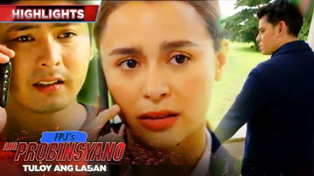 Alyana tells Cardo that their work with Lito will finish late | FPJ's Ang Probinsyano