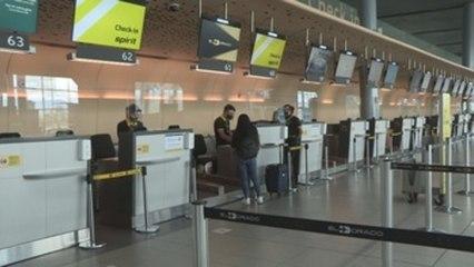 Reanudan vuelos internacionales en cuatro ciudades de Colombia tras suspensión por COVID