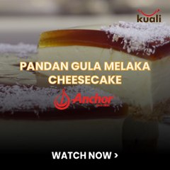 Pandan Gula Melaka Cheese Cake - 1/20
