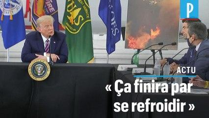 Trump sur le réchauffement climatique : « Ça finira par se refroidir »