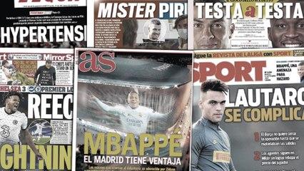 Les raisons qui poussent Kylian Mbappé à aller au Real Madrid, le dossier Lautaro Martinez au Barça en grande difficulté