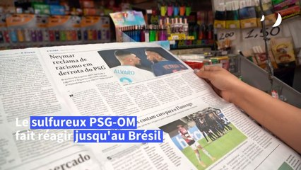 Les Brésiliens solidaires avec Neymar après les incidents de PSG-OM