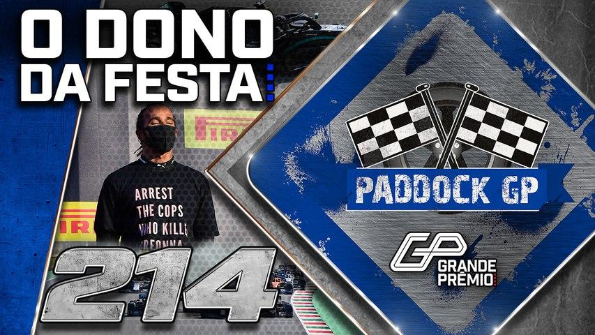 Vitória de HAMILTON na F1 na casa da FERRARI + MotoGP e Indy | Paddock GP #214